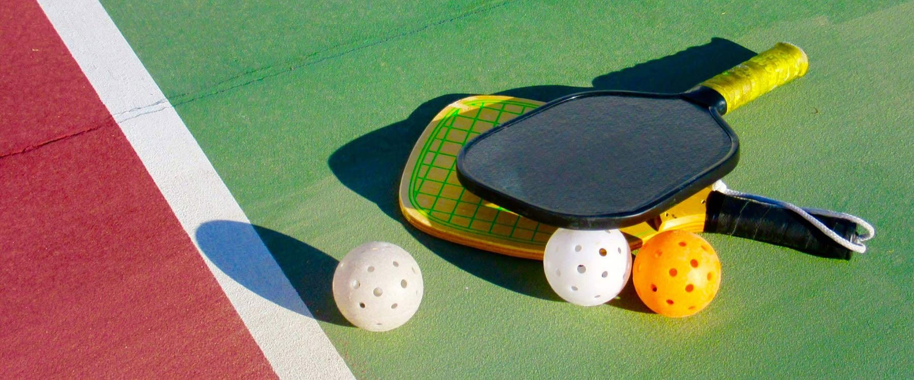 Pickle Ball for beginners or advanced players.