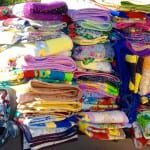 Our Outdoor Resorts Indio Residents hand crafted quilts to give to the less fortune