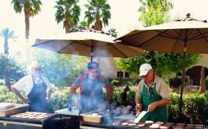 We have the nicest community BBQ of all the Indio RV Parks!