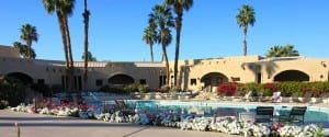 Few Palm Springs RV Parks have as nice a pool as we do