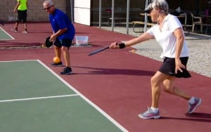 Pickleball is just one activity that our residents love