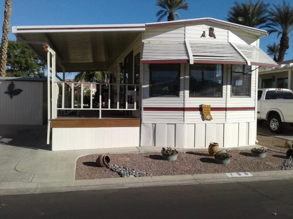 FOR SALE, LOT #156 WITH PARK MODEL, $67,900 – Desert Aire Resort